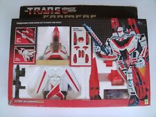 1984 MINT IN SEALED BOX 100% COMPLETE TRANSFORMERS AUTOBOT JETFIRE