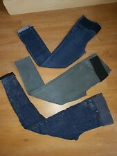 TOPSHOP maternity skinny jeans size 12 3x pairs jamie leigh 30 32