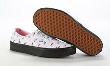 VANS Lazy OAF Roses Pink Flower Black Sole Womens Shoes Runners