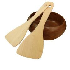 Rice Scoop Cooking Shovel Spatula Kitchen Wooden Utensil Turner Hand Wok Tools