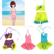 Adorable Doll Lacing Swimwear Bathing Clothes Outfit for 60cm BJD Lolita Dolls