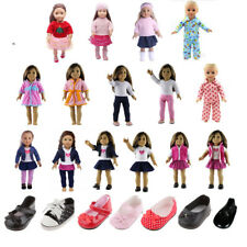 Doll Clothes Pajamas Sleepwear Outfit for 18 inch American Girl Doll Pants Shirt