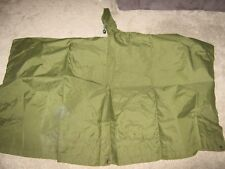 British army 58 patt poncho in good used condition ideal for bushcraft & cadets