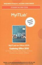 MyITLab with Pearson EText--Access Card--For Exploring Microsoft Office 2016...