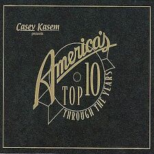 Casey Kasem: America's Top 10 Through the Years [Box] by Various Artists CD