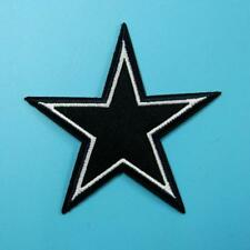 Star Big Iron on Sew on Patch Applique Badge Embroidered Biker Motor Cute Sports