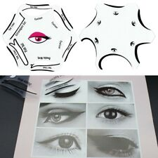 New 6 in 1 Stencils Eyeliner Template Smoky Makeup Guide Cat Eye Liner Quick