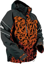 HMK Stamp Orange/Black Mens Action 2 Snowmobile Snow Jacket 2016