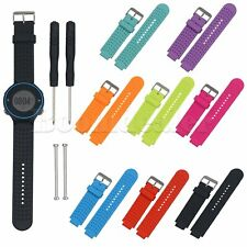 Silicone Wrist Band Strap For Garmin Forerunner 220 230 235 630 GPS Watch New