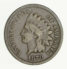 1870 Indian Head Cent - Circulated *2957