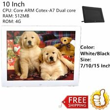 "7/10/15""LED HD High Resolution Digital Picture Photo Frame + Remote Controller@T"