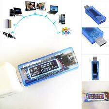 USB Charger Doctor Capacity time Current Voltage Detector Meter Tester New UN