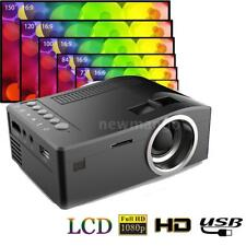UC18 LCD LED Projector Mini Portable Support 1080P HD Home Theater Cinema Y8D0