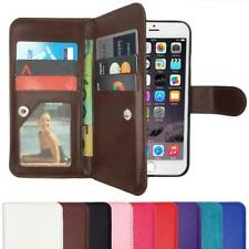 Wallet Stand Flip Magnetic Leather Flip Case Cover For iPhone X 7 6S 8 Plus 5 SE