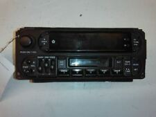 Radio Receiver, Am-Fm-Cassette, Fits 99-00 Jeep Grand Cherokee (Fits: Dodge Dakota)