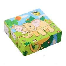 Wooden Jigsaw 3D Puzzle Toys Kids Educational Animal Learning Baby Children Toy