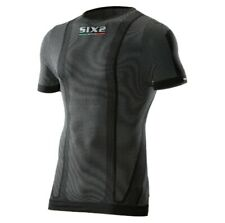 SixS TS1 Carbon Mens Short Sleeve Under Jersey Black Carbon