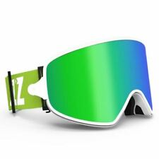 Dual-use Ski Goggles with Magnetic Quick-change 2 in 1 Lens Anti-fog UV400 Night