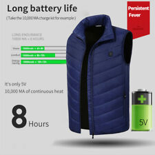 Electric Heated Intelligent Vest Heating Warm Up Jacket Winter Riding Skiing
