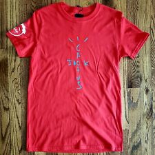 CACTUS JACK TRAVIS SCOTT ASTROWORLD RED BLUE BLACK T-SHIRT jordan 1 4 retro air