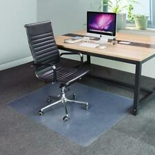 "Chair Desk 23x35"" Wood Floor Mat Protector Pad For Hard Wood Office PVC Mat"
