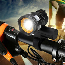 USB Rear Bicycle Lamp Rechargeable 15000LM XML T6 LED ZOOM Front Head light \