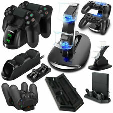 USB LED Charger Dock Station Charging Stand For PlayStation PS4 Game Controller