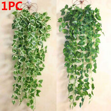 Real Touch Wall Hanging Garland Plants Fake Foliage Vine Artificial Ivy Leaves