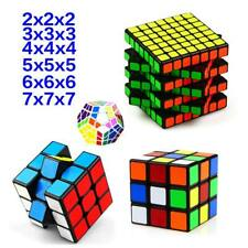 Speed Rubix Cube Smooth Magic Puzzle Game Rubiks Gift Toy Play 3x3 5x5 6x6 7x7