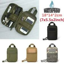 Outdoor Waterproof Tactical Waist Belt Pack Phone Pouch Bag Camping Hiking Marve