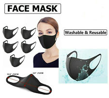 Face Mask - Face, Mouth & Nose Protection Reusable Dust Masks