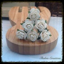 6 ROSE GRIPS -Winter wedding colours, hair accessories.