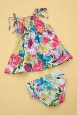 Baby Nay Summer Breeze Smocked Dress Bloomer-24M 2T 3T
