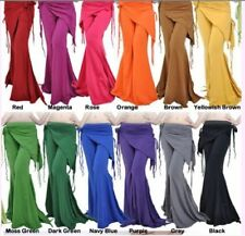 Belly Dance Costume Tribal Cotton Yoga Pants 14 colours