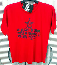 BLACK REBEL MOTORCYCLE CLUB RED COTTON MEN'S T-SHIRT