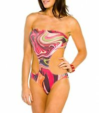 Kiniki Ripple Tan Thru Monokini Swimsuit