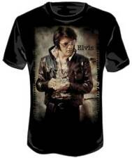 Elvis Presley Photo Black Zion Officially Licensed Adult T-shirt S-2XL