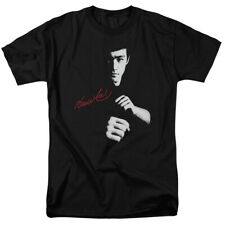 Bruce Lee The Dragon Awaits Licensed Adult Shirt S-3XL