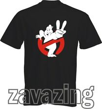 GHOSTBUSTERS T-SHIRT 80S RETRO VINTAGE GHOST BUSTERS