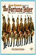 "2710 The fortune teller ""The drum corps"" quality POSTER. Decorative Art."