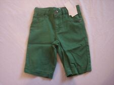 NWT Boy's Gymboree Spring Social Golf Pro green adjustable shorts ~ 4 5 12
