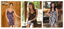 CHEMISE NIGHTGOWN in Mossy Oak, Muddy Girl or Snow Camo BY WILDERNESS DREAMS