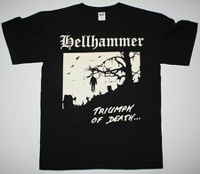 HELLHAMMER TRIUMPH OF DEATH'83 DEMO CELTIC FROST TOM WARRIOR NEW BLACK T-SHIRT