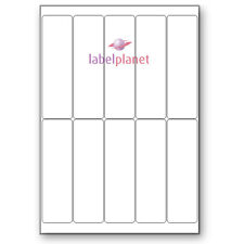 10 Per Page Self-Adhesive White A4 Smart Stamp Logo Laser Labels Label Planet®