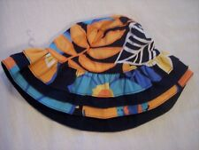 NWT Girl's Gymboree Tropical Bloom flower hat ~ 0 6 12 18 24 months 4 4T 5 5T