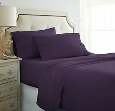 1200 TC 4 Piece Bed Sheet Set! Queen, King, Cal King - 12 colors! - Deep Pocket!