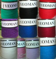 Yeoman Cashmilon Acrylic Yarn 4ply 500g Hand / Knitting Machine Choice of Colour