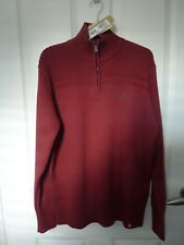 Really Smart OXBOW Chelty Zip Jumper 100% Cotton NWT RRP £55.00