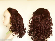 Long and Glamorous Wavy  3/4 cap Wig To Add Thickness and Length In Minutes