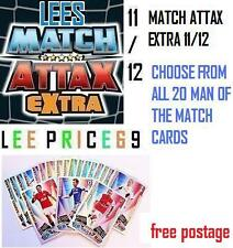 MATCH ATTAX EXTRA 11/12 CHOOSE FROM ALL 20 MAN OF THE MATCH